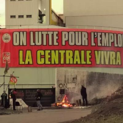 AUX TRAVAILLEURS DE LA CENTRALE DE GARDANNE ET LEUR SYNDICAT CGT